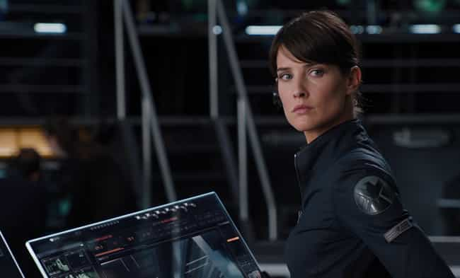 Maria Hill is listed (or ranked) 3 on the list The Busiest Characters In The MCU