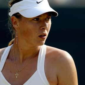 Maria Sharapova is listed (or ranked) 20 on the list The Most Influential Athletes Of All Time