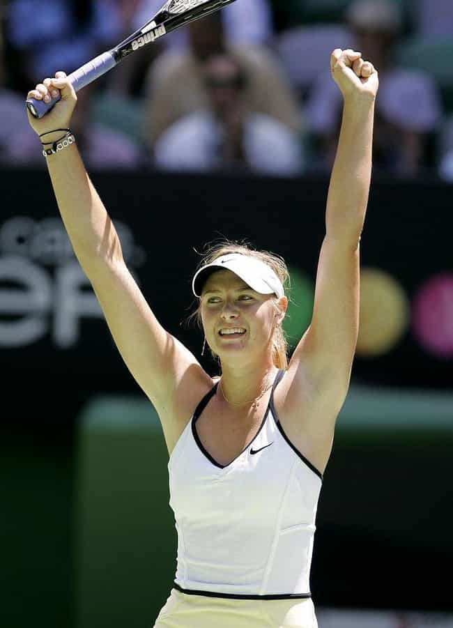 Maria Sharapova is listed (or ranked) 4 on the list Women Who Andy Roddick Has Dated