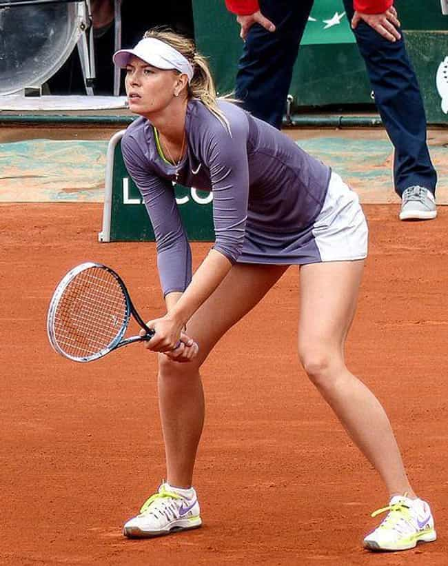 Maria Sharapova is listed (or ranked) 1 on the list Female Athletes Caught Doping