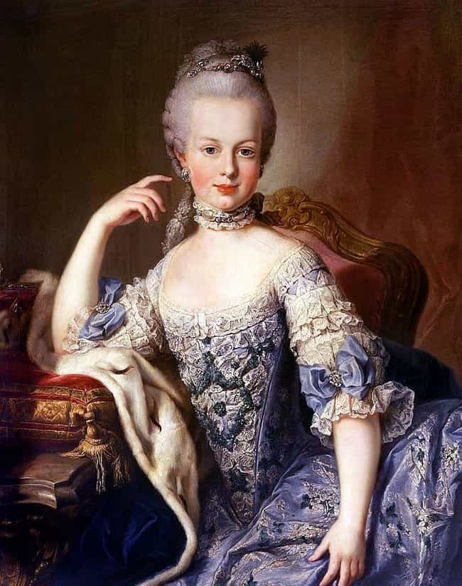 Marie Antoinette is listed (or ranked) 2 on the list The 5 Most Outrageous Sex Rumors About History's Biggest Players
