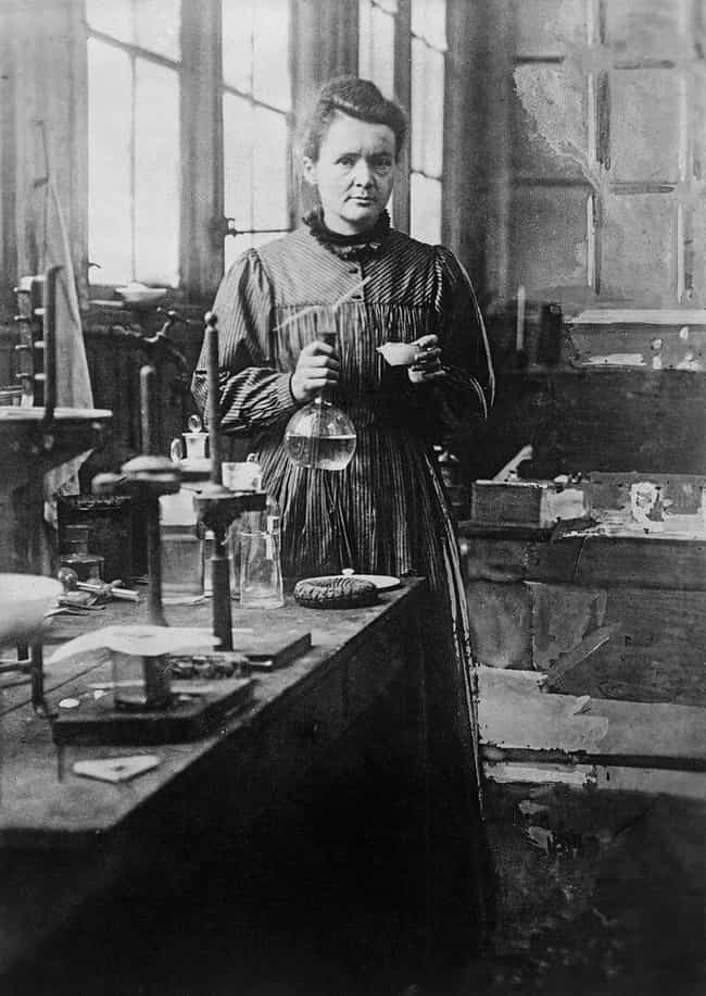 Marie Curie is listed (or ranked) 2 on the list 20 Amazing Women in STEM Fields