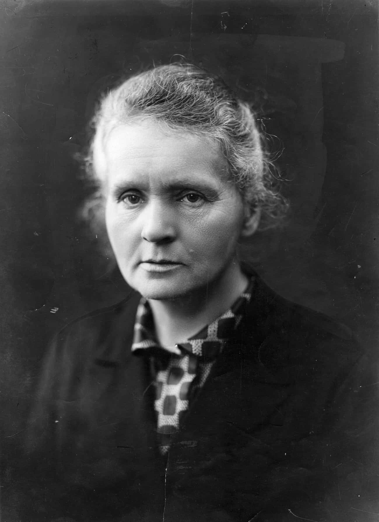 Marie Curie is listed (or ranked) 4 on the list People Who Made The World A Better Place