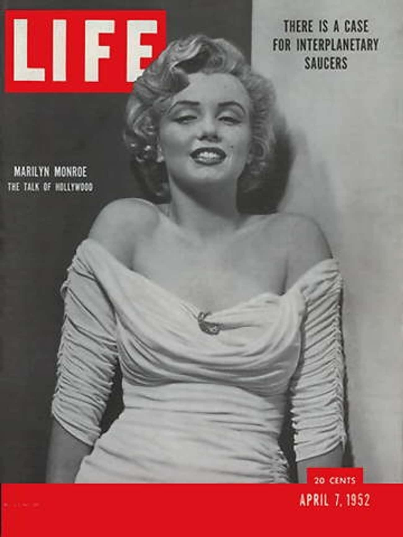 Marilyn Monroe is listed (or ranked) 1 on the list The Best Life Magazine Covers