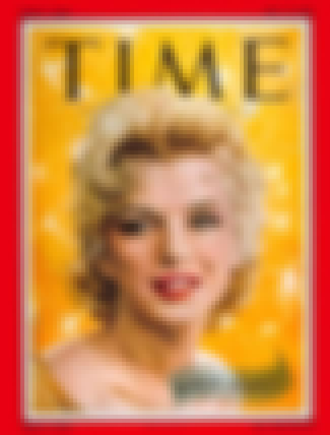 Marilyn Monroe is listed (or ranked) 1 on the list The Best Time Covers
