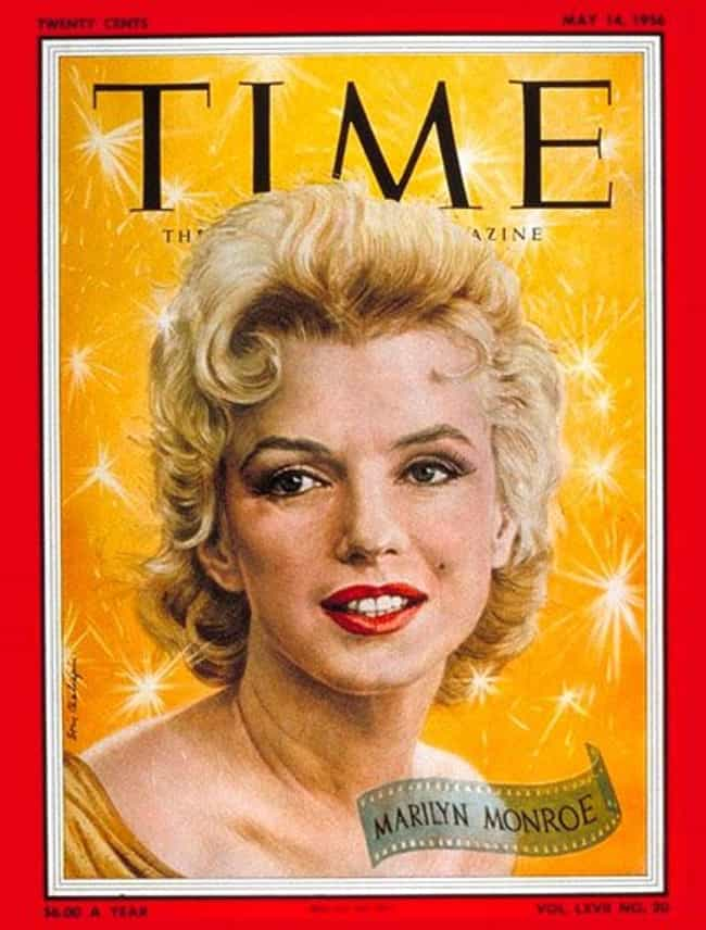 Marilyn Monroe is listed (or ranked) 1 on the list The Most Powerful Time Covers