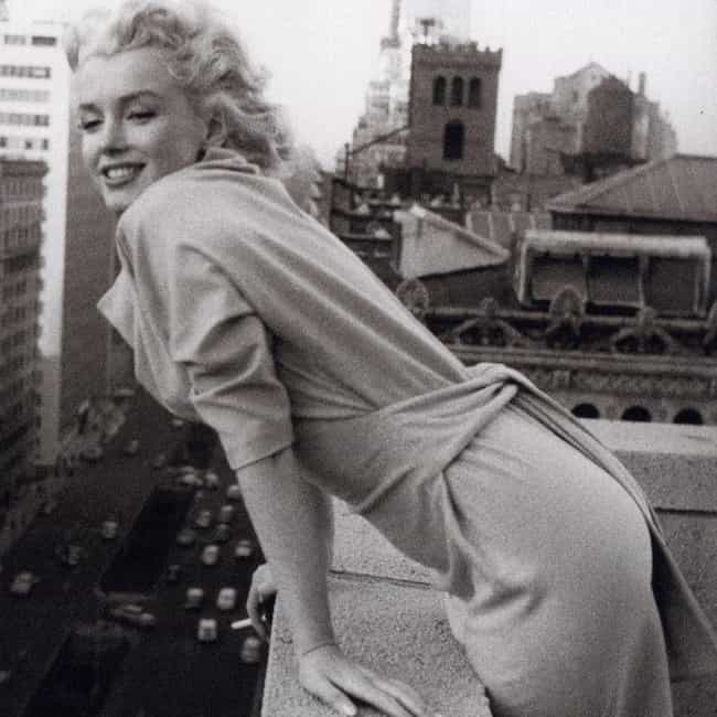 Marilyn Monroe is listed (or ranked) 4 on the list The Most Beautiful Actresses Ever