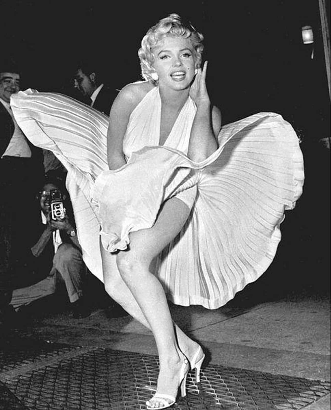 Marilyn Monroe is listed (or ranked) 4 on the list 34 Famous Movie Stars of the 1950s