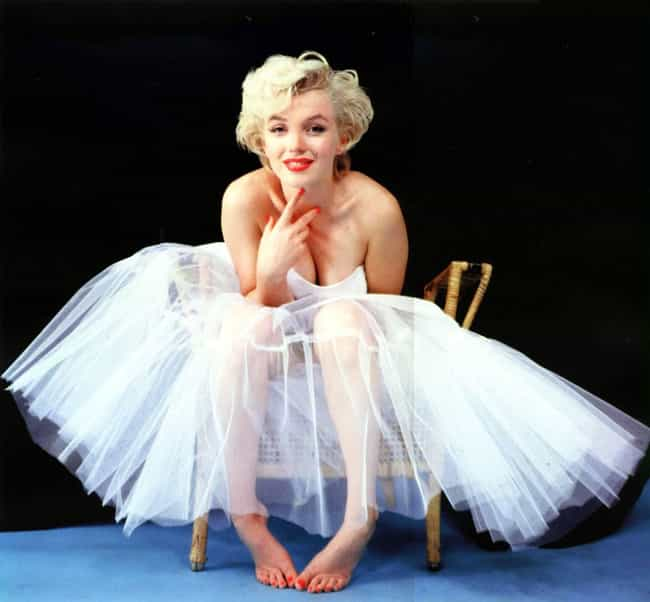 Marilyn Monroe is listed (or ranked) 3 on the list The Top Celebrity Fashion Icons of All Time