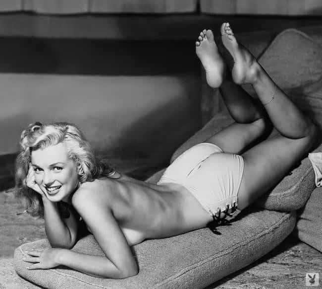 Marilyn Monroe is listed (or ranked) 4 on the list Playboy Pictorials Of The '50s