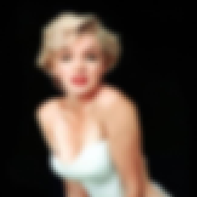 Marilyn Monroe is listed (or ranked) 6 on the list The Most Beautiful Actresses Ever