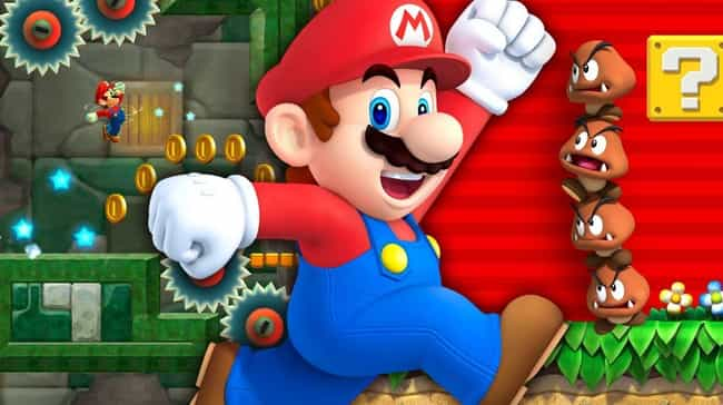 Mario is listed (or ranked) 1 on the list 15 Video Game Character Designs With Strange And Hilarious Origin Stories