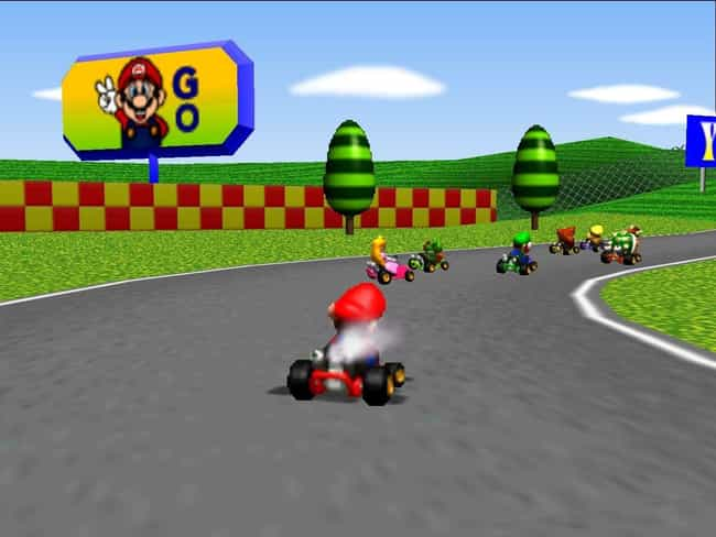 Mario Kart 64 is listed (or ranked) 3 on the list The Best Mario Kart Games