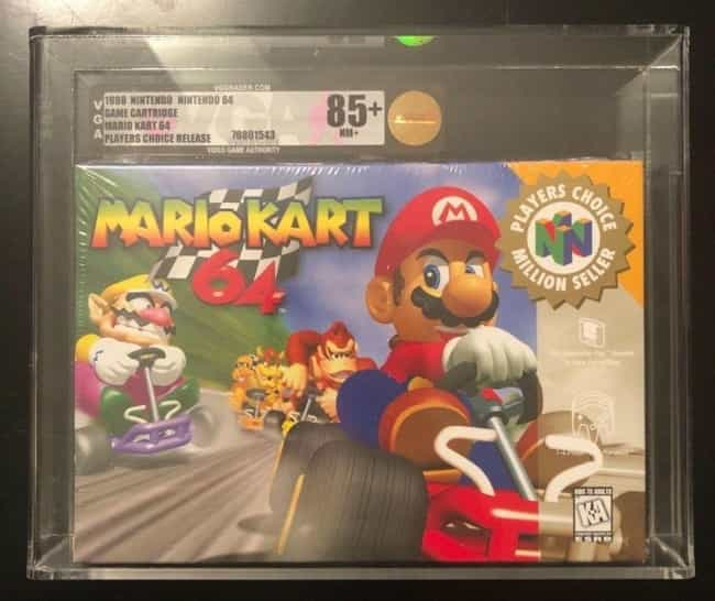 The Most Ridiculously Valuable Nintendo 64 Games
