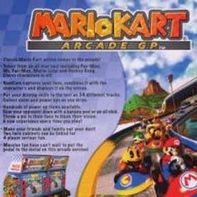 Mario Kart Arcade GP is listed (or ranked) 1 on the list List of All Monkey Games