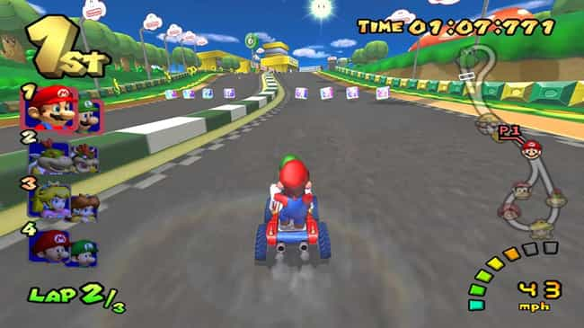 Mario Kart: Double Dash‼... is listed (or ranked) 2 on the list The Best Mario Kart Games