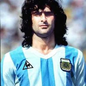 Mario Kempes is listed (or ranked) 12 on the list The Greatest South American Footballers of All Time