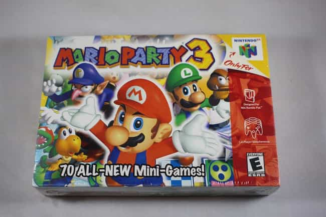 Mario Party 3 is listed (or ranked) 5 on the list The Most Ridiculously Valuable Nintendo 64 Games