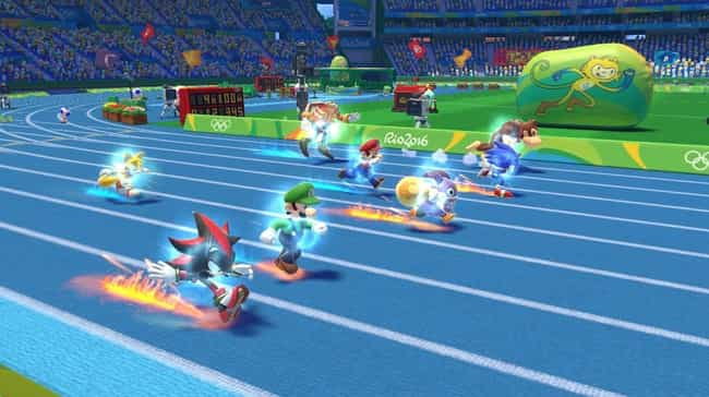 Mario & Sonic at the... is listed (or ranked) 4 on the list The 13 Most Bizarre Crossovers In Gaming History