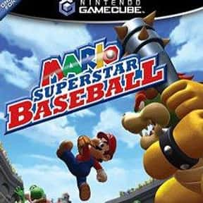 Mario Superstar Baseball is listed (or ranked) 1 on the list The Best GameCube Baseball Games