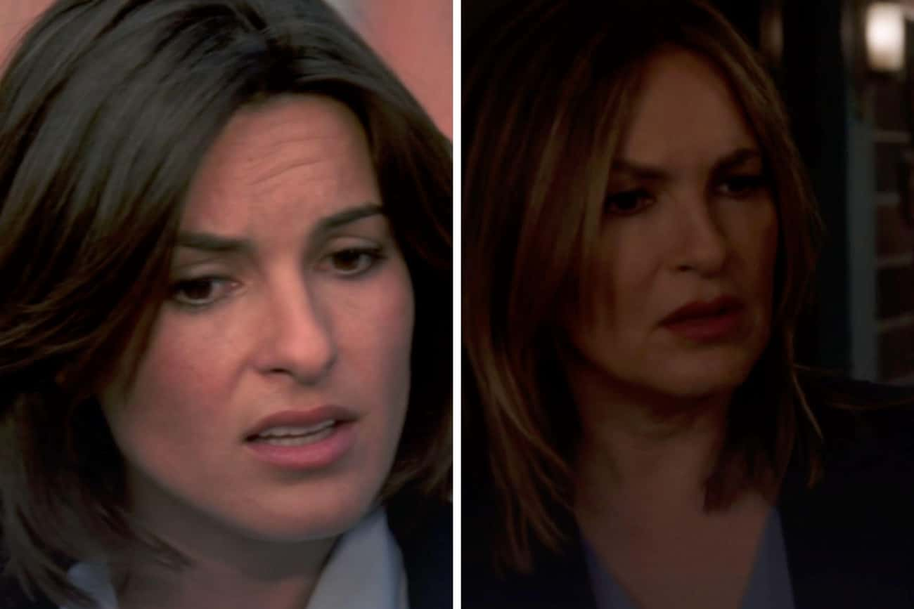 Mariska Hargitay (Olivia Benso is listed (or ranked) 4 on the list How The 'Law & Order: SVU' Has Aged Since The First Season