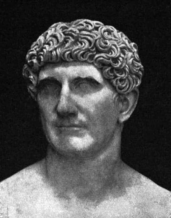 Mark Antony is listed (or ranked) 1 on the list The Worst Admirals of All Time