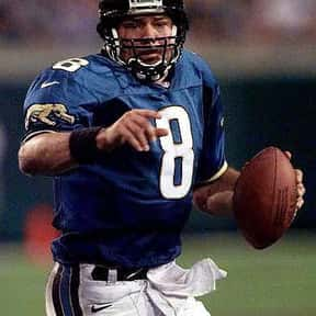 Mark Brunell is listed (or ranked) 9 on the list Left Handed Football Players