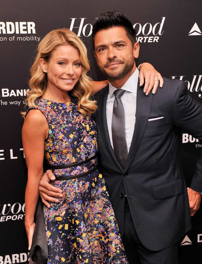 Mark Consuelos is listed (or ranked) 2 on the list Famous Friends of Kelly Ripa