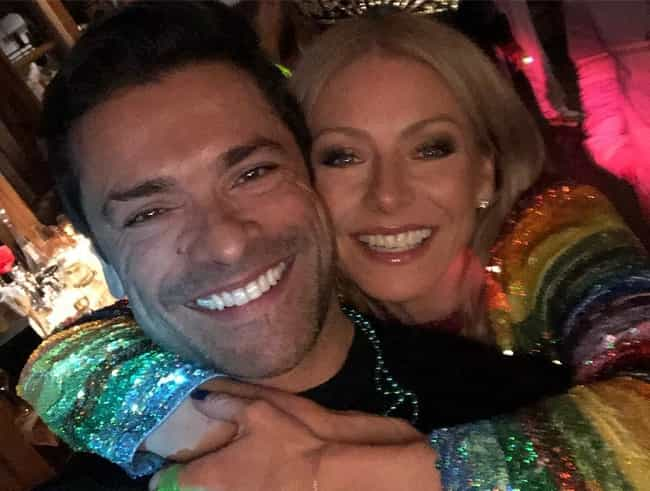 Mark Consuelos is listed (or ranked) 1 on the list The Two Men Who Stole Kelly Ripa's Heart