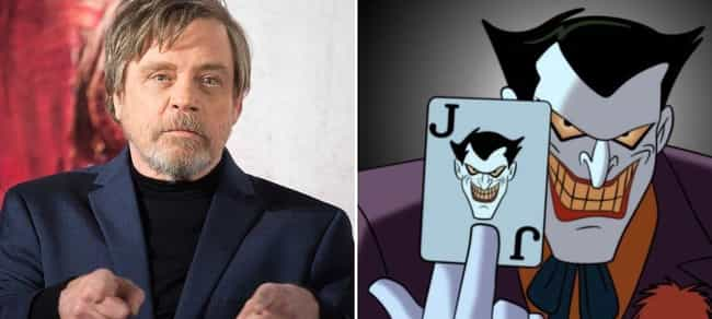 Mark Hamill is listed (or ranked) 1 on the list Famous Actors You Didn't Realize Have Voiced Superheroes And Villains