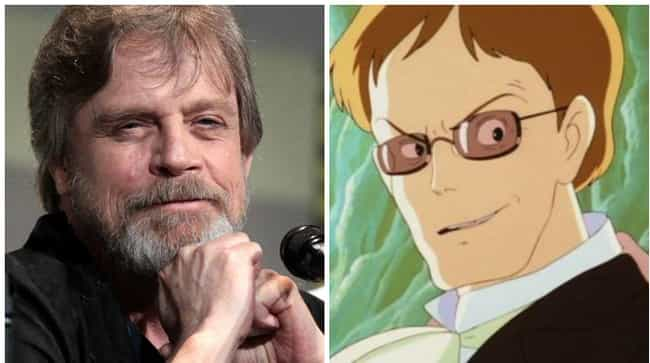 Mark Hamill is listed (or ranked) 8 on the list 18 Times American Celebrities Lent Their Voice To Anime