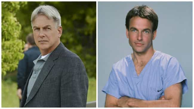 Mark Harmon is listed (or ranked) 1 on the list 21 Times You've Seen the NCIS Actors Before