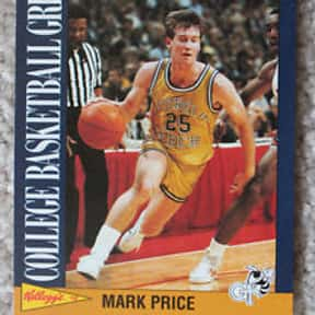 Mark Price is listed (or ranked) 2 on the list The Best NCAA Point Guards of the '80s
