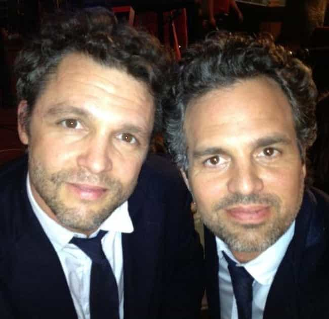 Mark Ruffalo is listed (or ranked) 3 on the list Awesome Photos Of Celebrities With Their Stunt Doubles