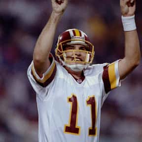 Mark Rypien is listed (or ranked) 4 on the list The Best Washington Redskins Quarterbacks of All Time