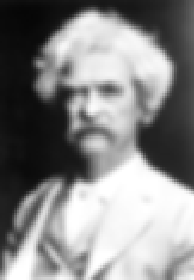 Mark Twain is listed (or ranked) 2 on the list List of Famous Humorists