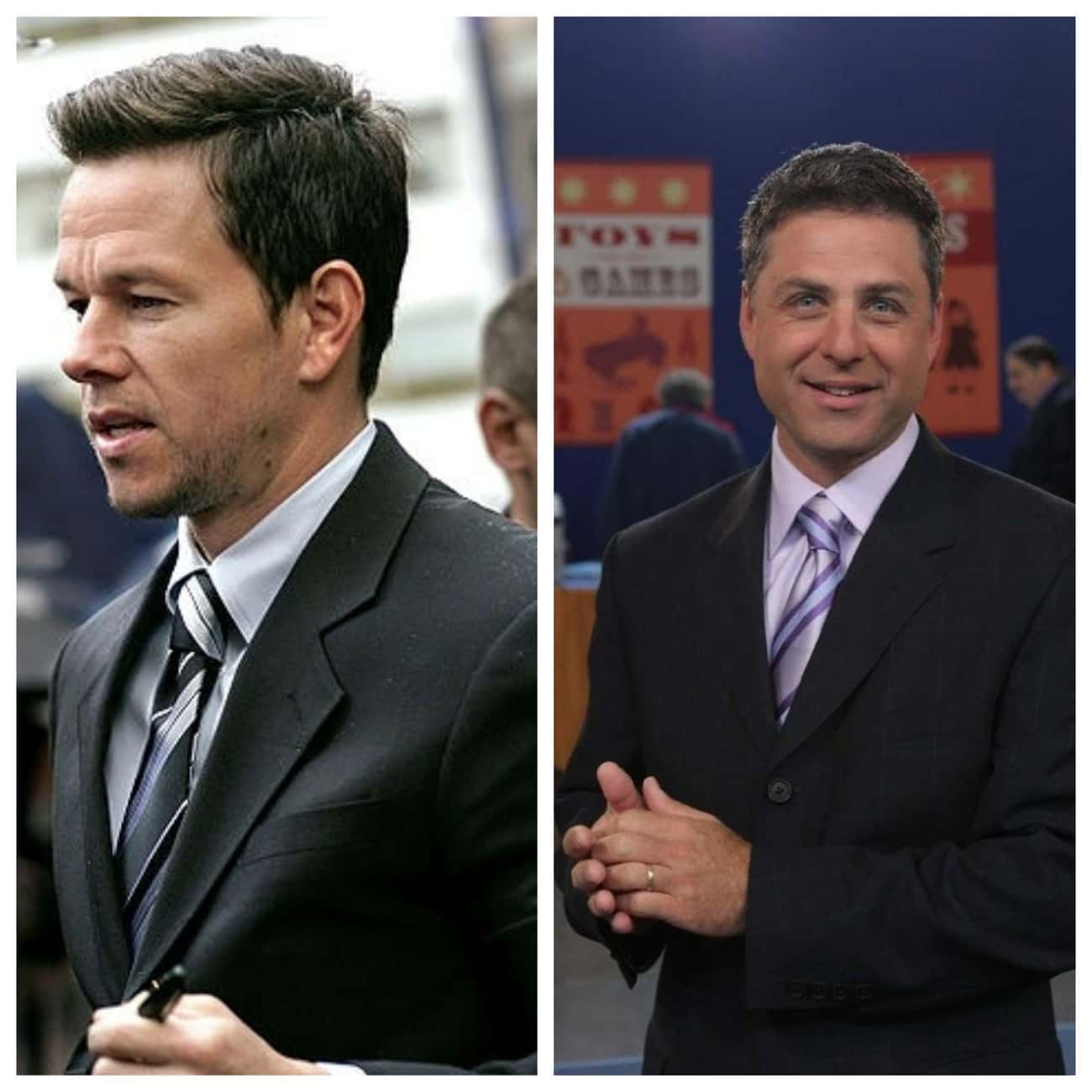 Mark Wahlberg & Mark L. Walber is listed (or ranked) 3 on the list Famous People with the Same Real Name