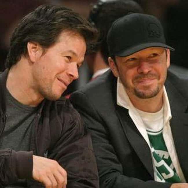 Mark Wahlberg supports Celtics via ranker.com