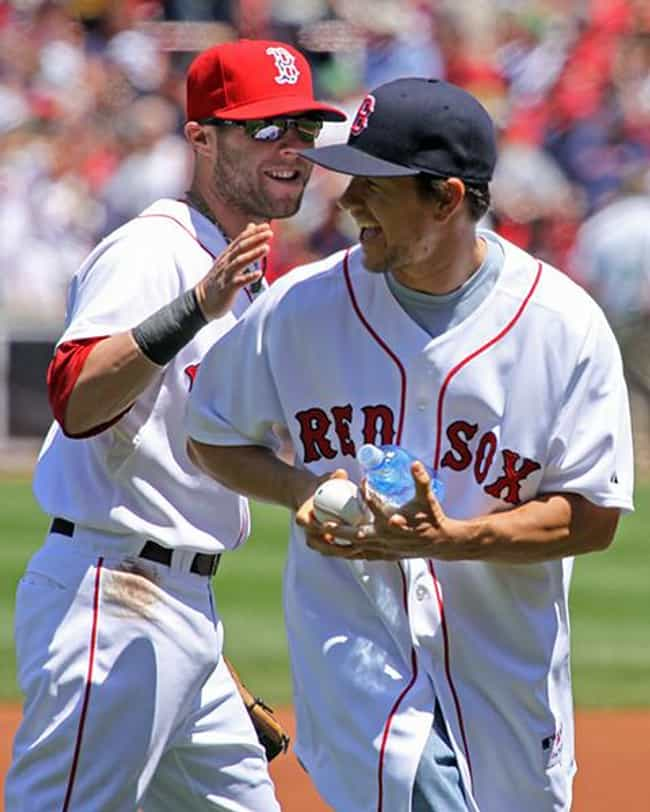 Mark Wahlberg is listed (or ranked) 2 on the list Celebrity Red Sox Fans