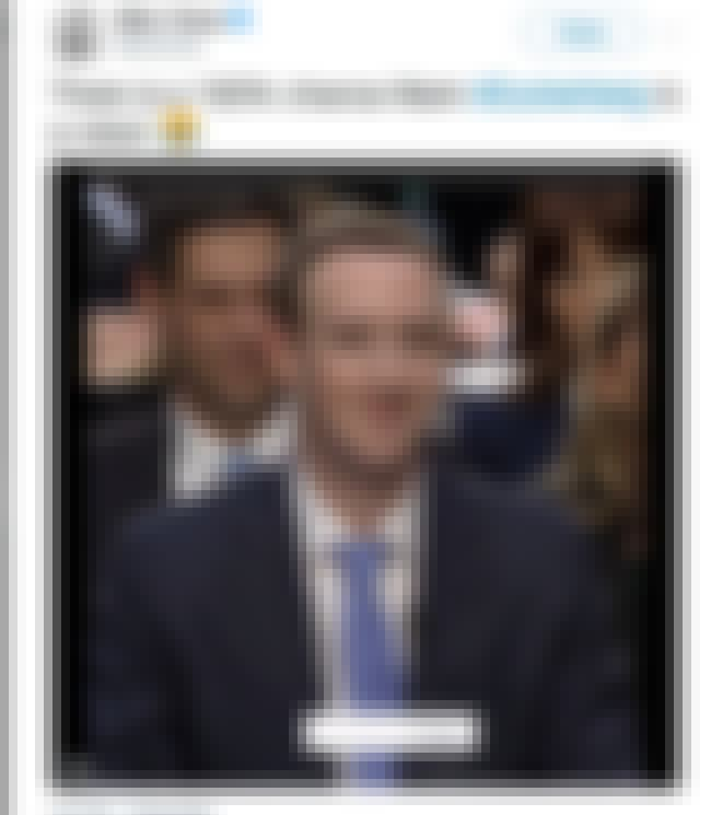 Mark Zuckerberg is listed (or ranked) 2 on the list Celebrities Who Broke the Internet in 2018