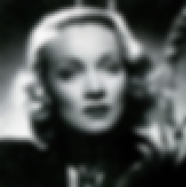 Marlene Dietrich is listed (or ranked) 4 on the list List of Famous Violinists