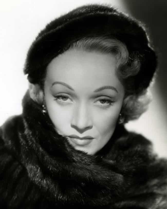 "Marlene Dietrich is listed (or ranked) 3 on the list People Named in Madonna's ""Vogue"""