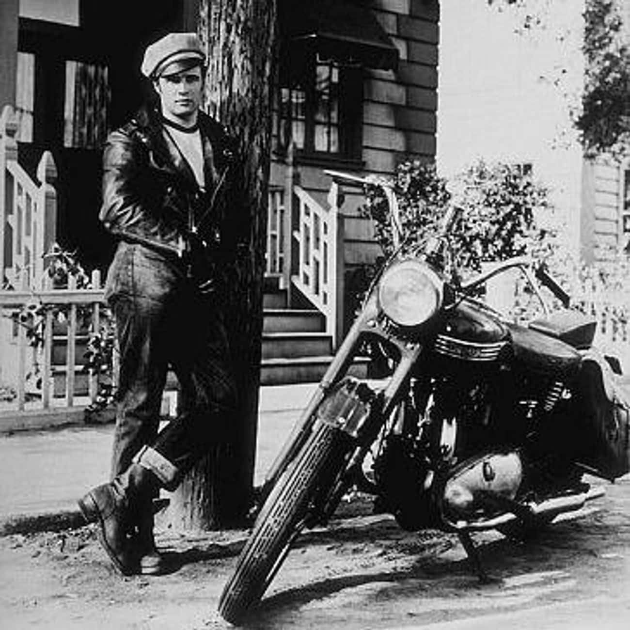 Marlon Brando is listed (or ranked) 4 on the list Actors Who Ride Motorcycles