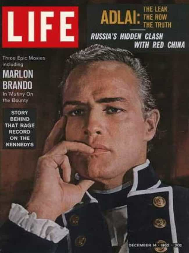 Marlon Brando is listed (or ranked) 3 on the list The Best Life Magazine Covers