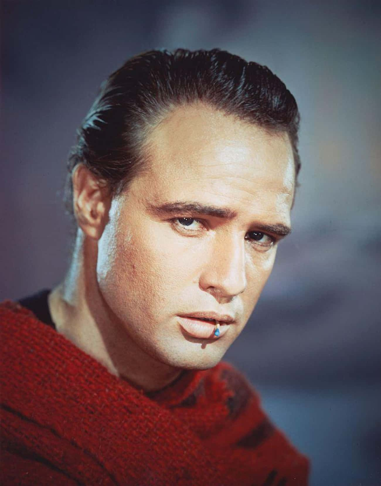 Marlon Brando is listed (or ranked) 3 on the list 34 Famous Movie Stars of the 1950s