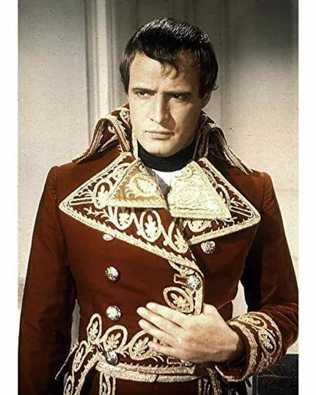 Marlon Brando is listed (or ranked) 4 on the list The Best Actors Who Played Napoleon Bonaparte