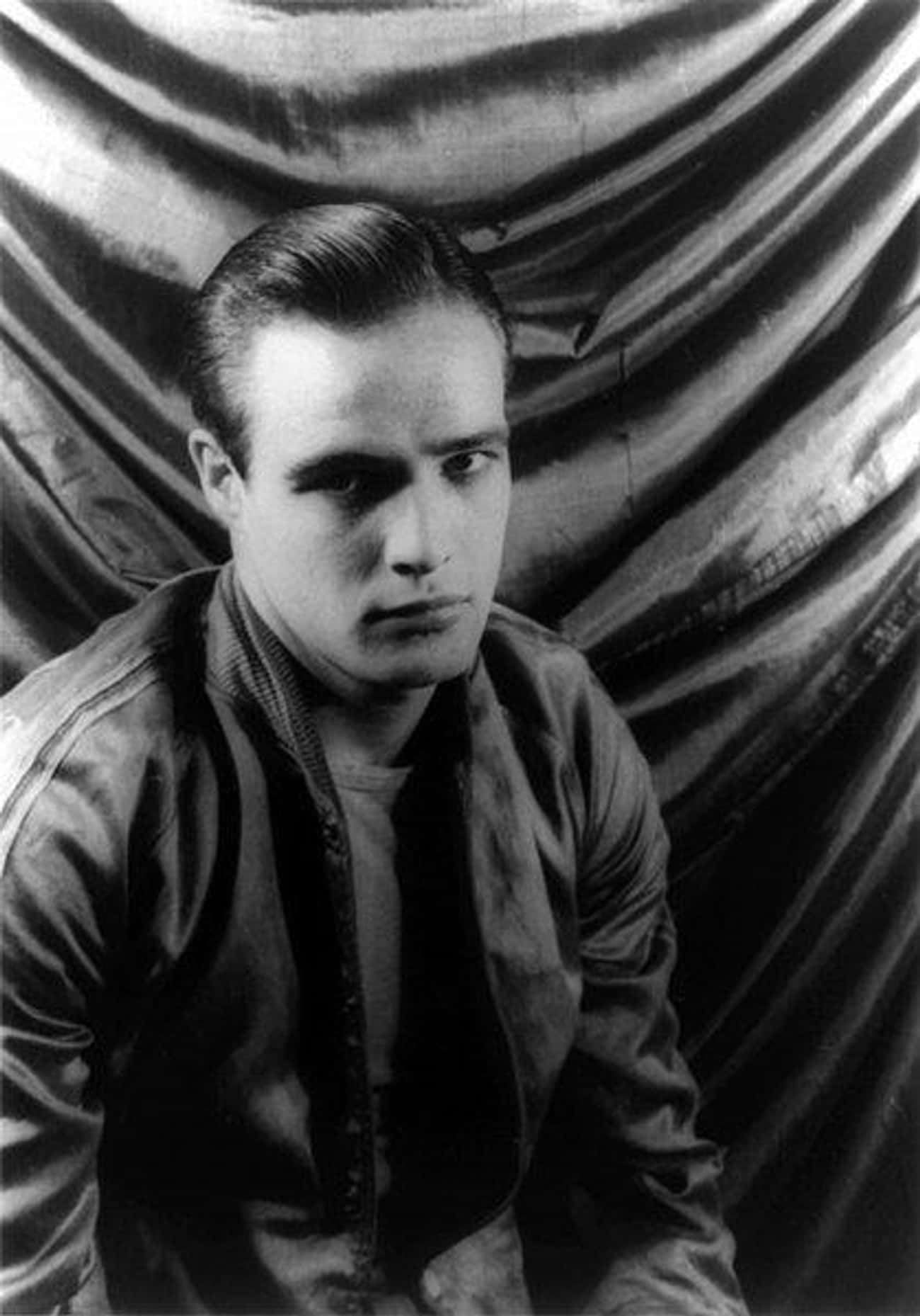 Marlon Brando is listed (or ranked) 4 on the list 50+ Famous Juniors