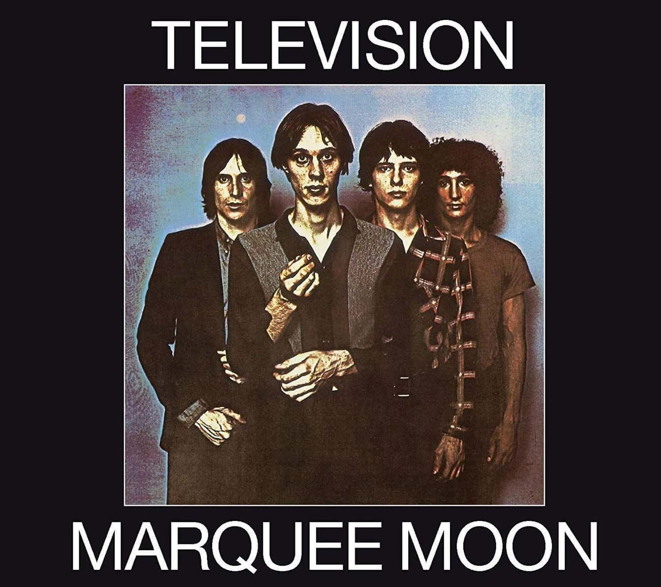 Television - 'Marquee Moon is listed (or ranked) 1 on the list The 12 Strangest Albums With Rabid Cult Followings