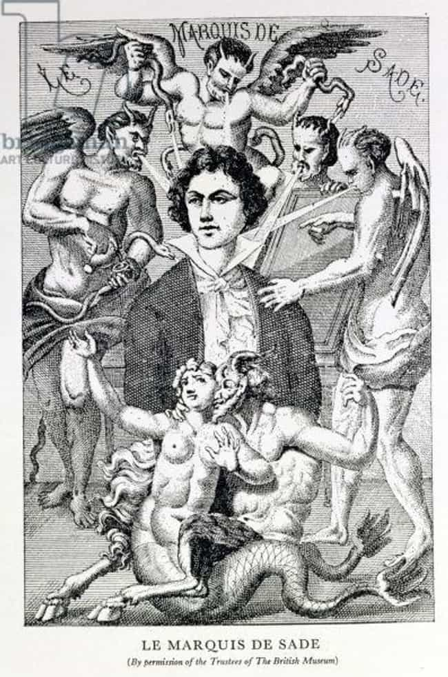 Marquis de Sade is listed (or ranked) 1 on the list 6 Historical Figures Who Were Really, Truly Obsessed with Sex Workers