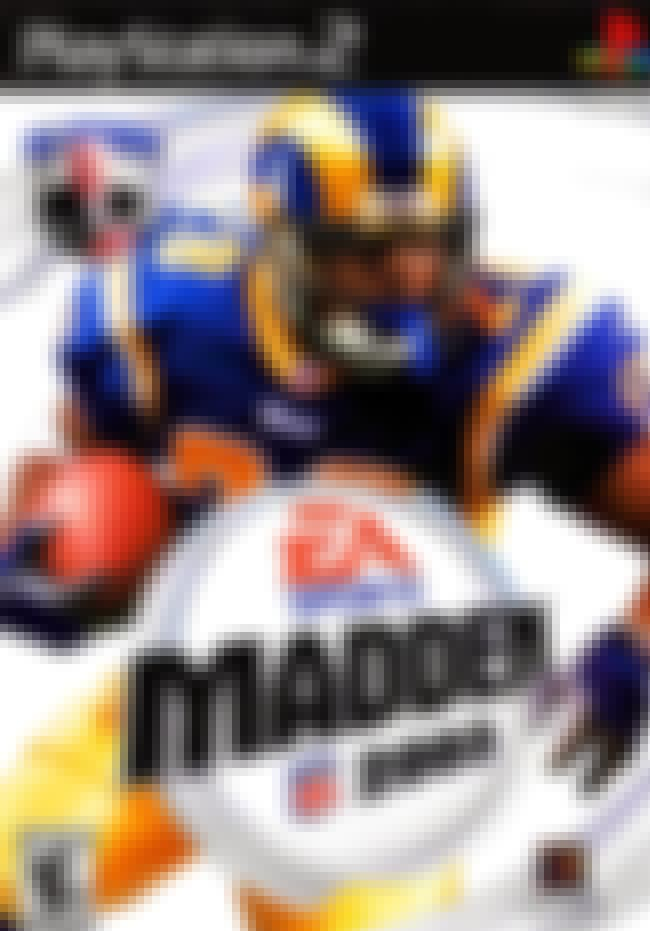 Marshall Faulk is listed (or ranked) 8 on the list The Best Madden NFL Cover Athletes